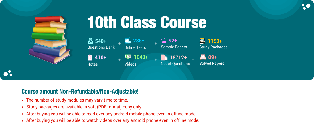 10th Class Course