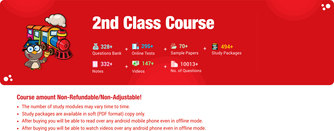 2nd Class Course